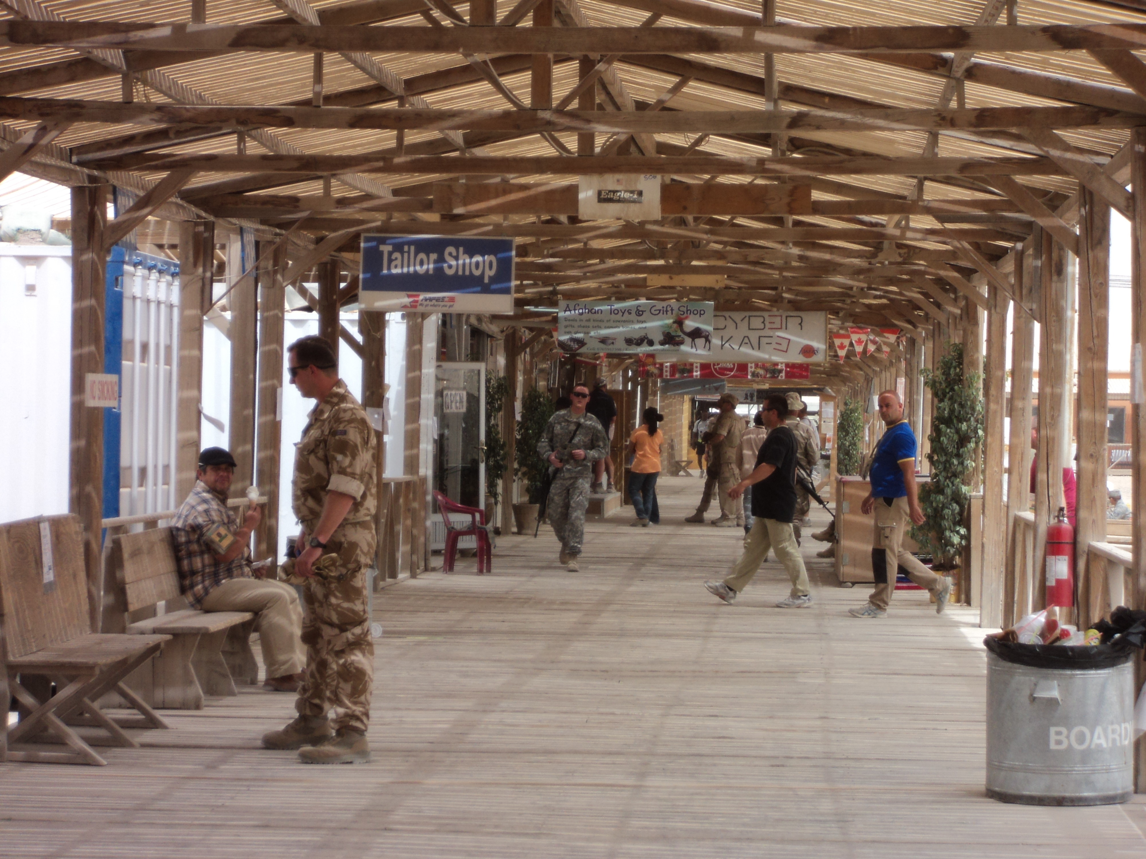 My Great Adventure into the Sandbox « A Record of My Deployment to Afghanistan « Page 4